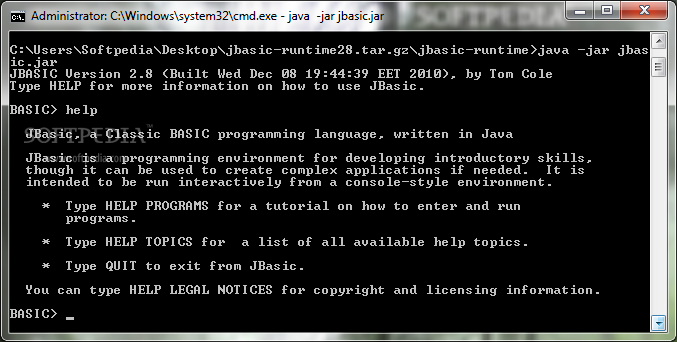 Download JBasic 2.8