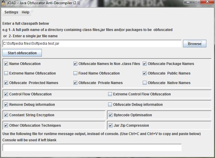 Download JOAD - Java Obfuscator Anti-Decompiler 2 1