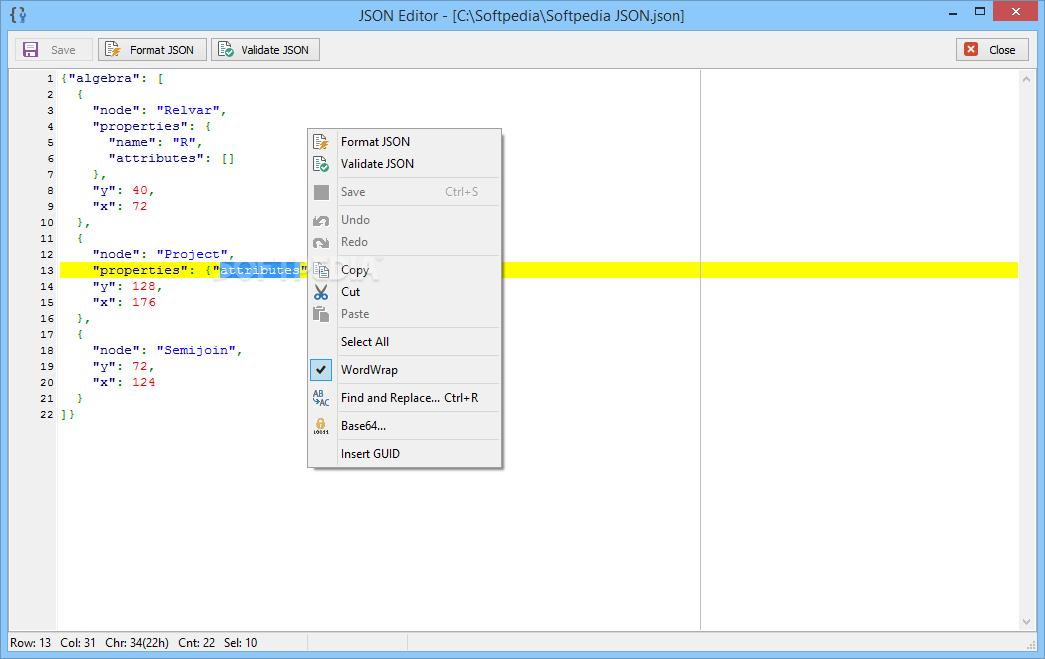 Download JSON Viewer 1 4 0 0
