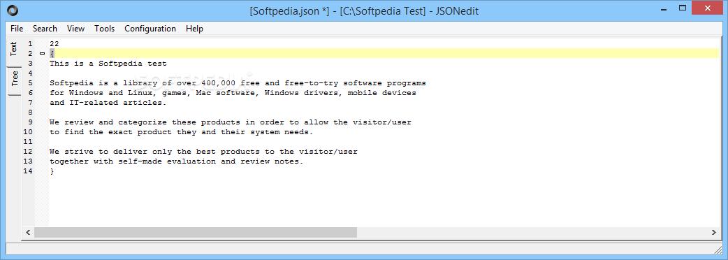 Download JSONedit 0 9 32 2