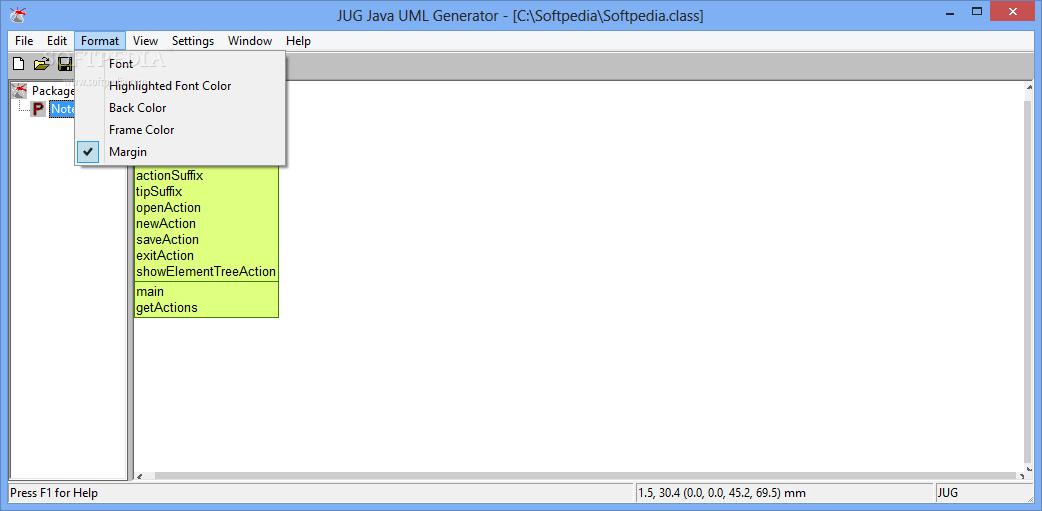 Download JUG Java UML Generator 1.6 Alpha