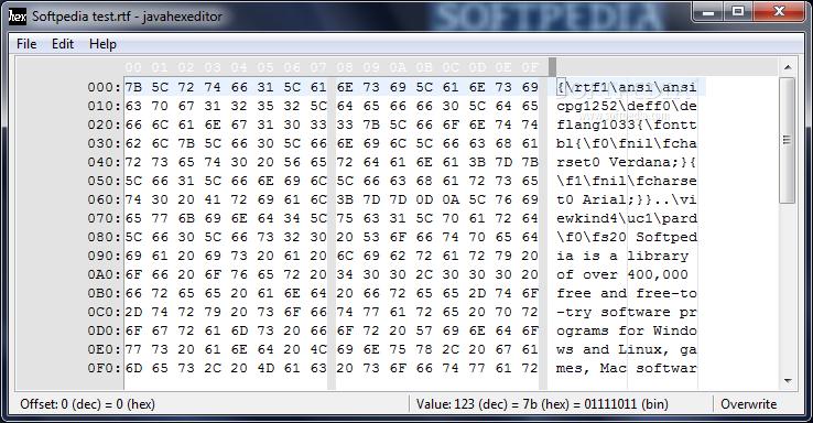 Download Java Hex Editor 0 4 2