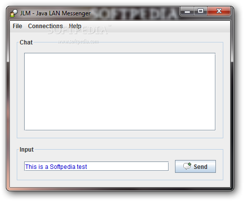 java lan messenger