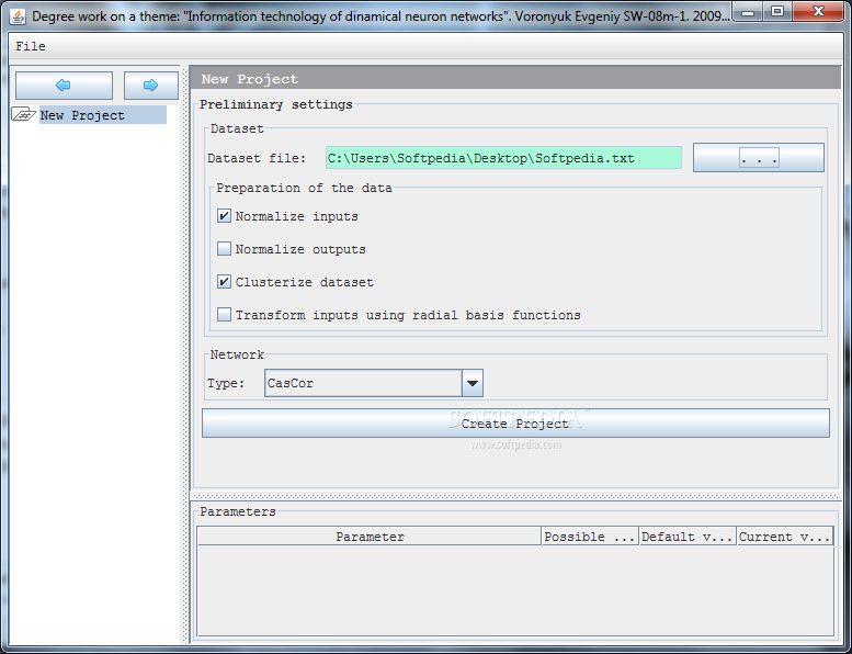 download parameter setting in evolutionary