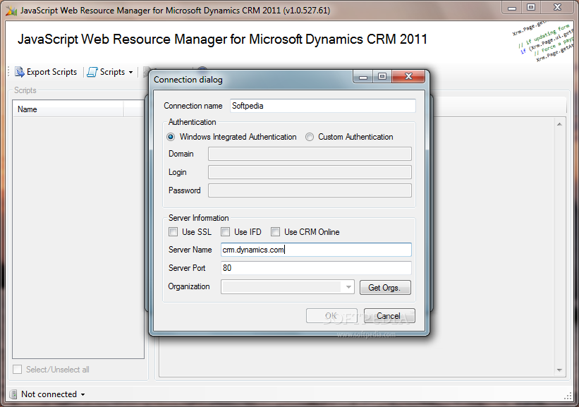 Download JavaScript Web Resource Manager for Microsoft