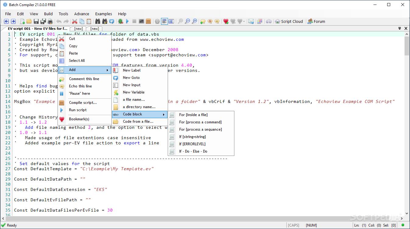 Download Batch Compiler 18 0 0