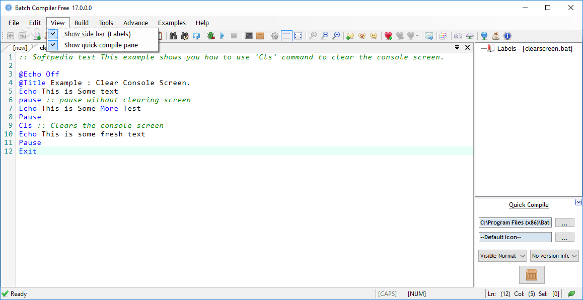 Download Batch Compiler 1710