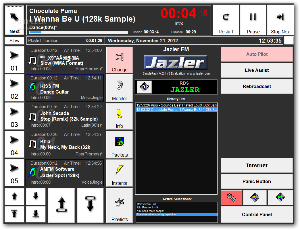 jazler radio automation software