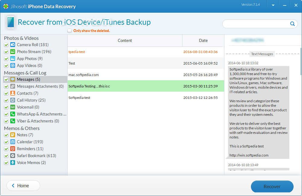 IPHONE DATA RECOVERY KOSTENLOS