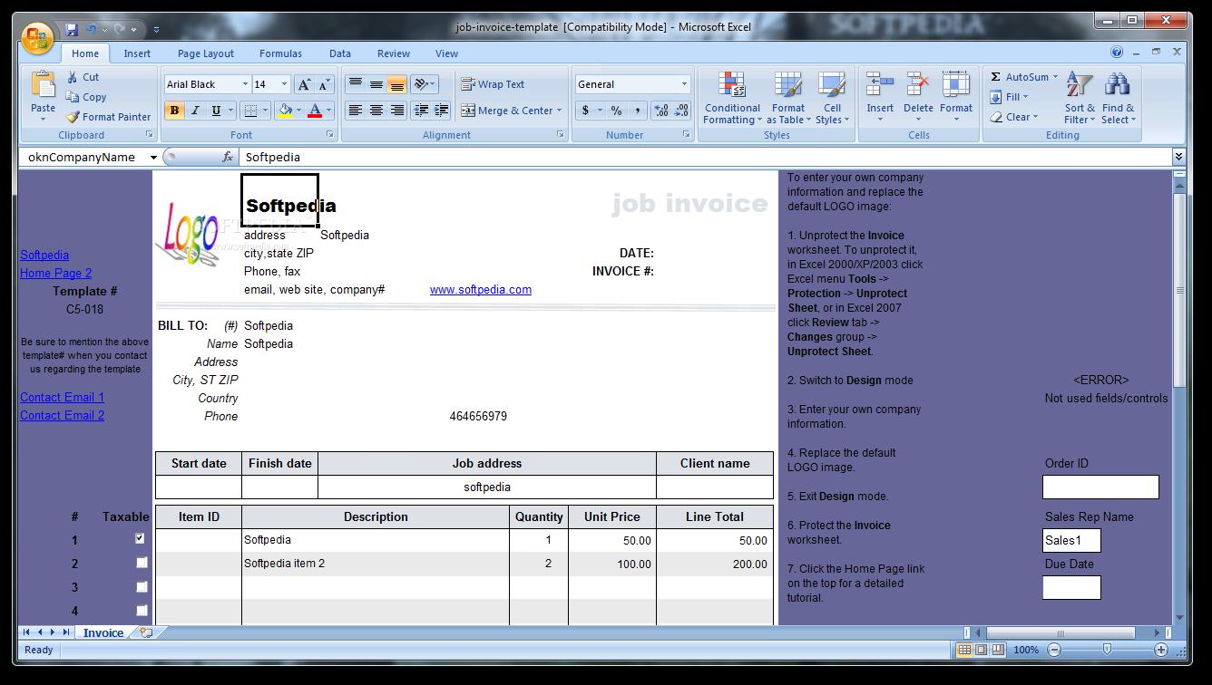 download job invoice template 1 10