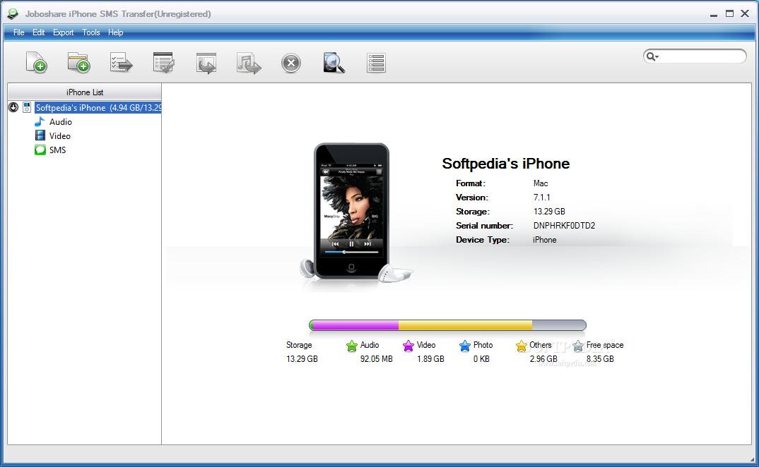 Download Joboshare iPhone SMS Transfer 3 4 5 Build 1206