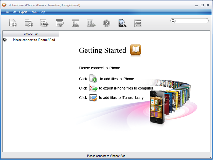 Joboshare iphone ibooks transfer 3.0.7.0607