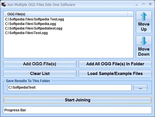 Download Join Multiple OGG Files Into One Software 7 0