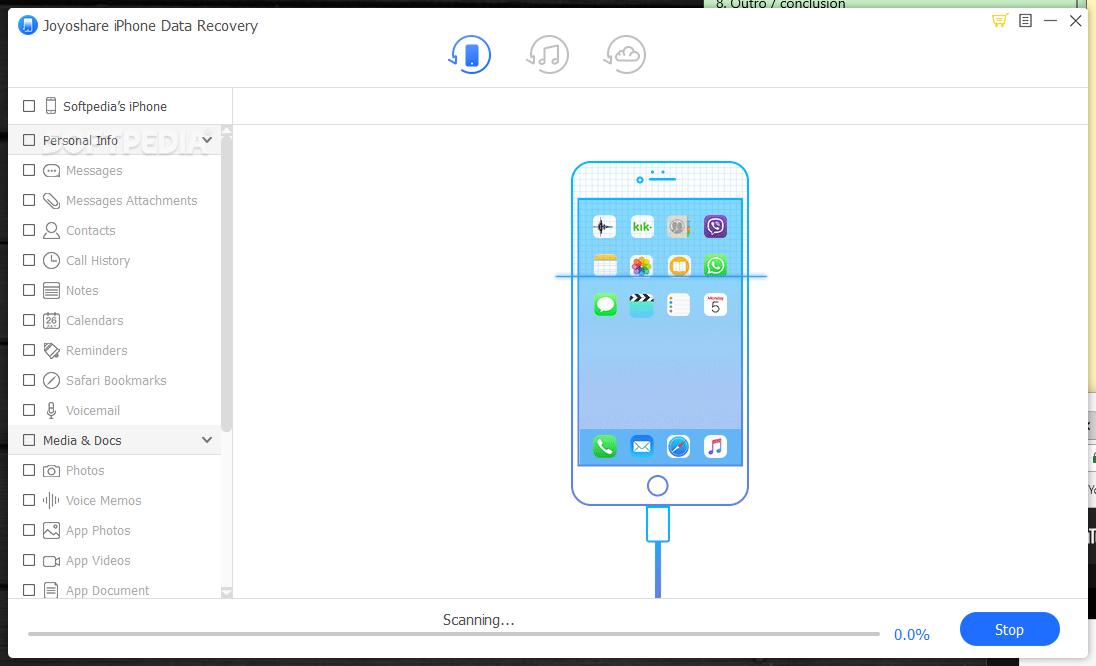 Download Joyoshare iPhone Data Recovery 2.1.0