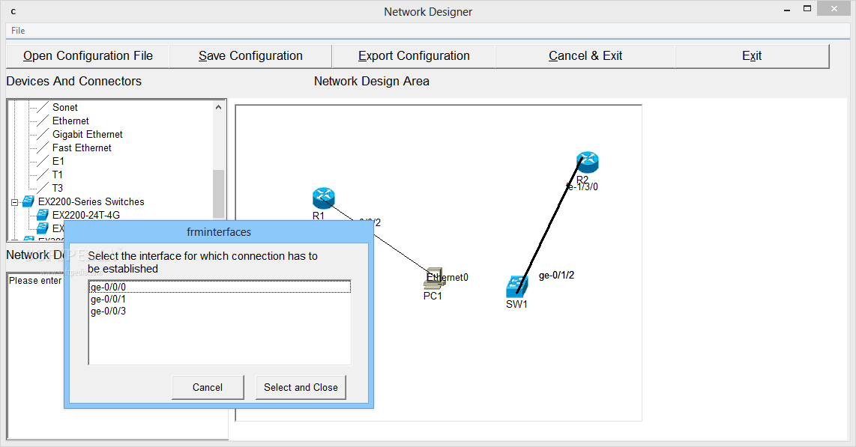 Download Juniper Simulator with Designer for JNCIA 2 2 0