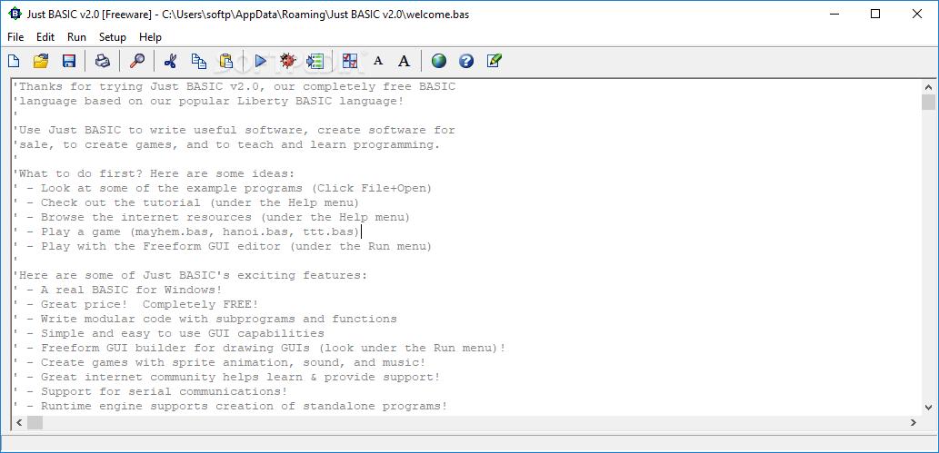 Download Just BASIC 2 0