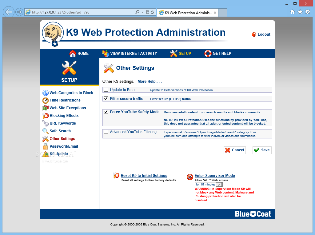Alternatives To k9 Web Protection
