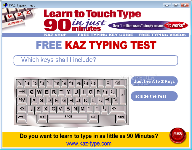 Free Typing Tutor Software, Learn to Type with Practice ...