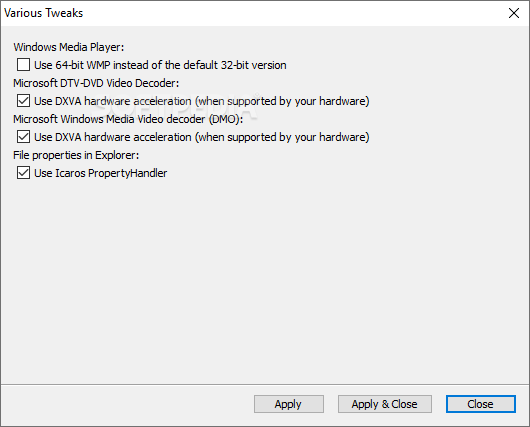 Download K Lite Codec Pack Mega 16 3 5