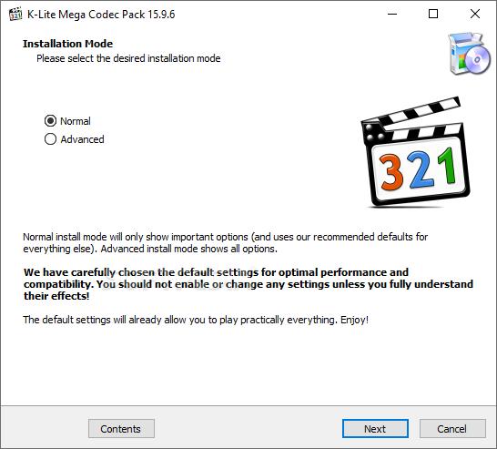 Download K Lite Codec Pack Mega 16 2 0