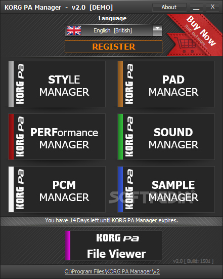 Download KORG PA Manager 3 3 Build 6801 - 01 08 2019