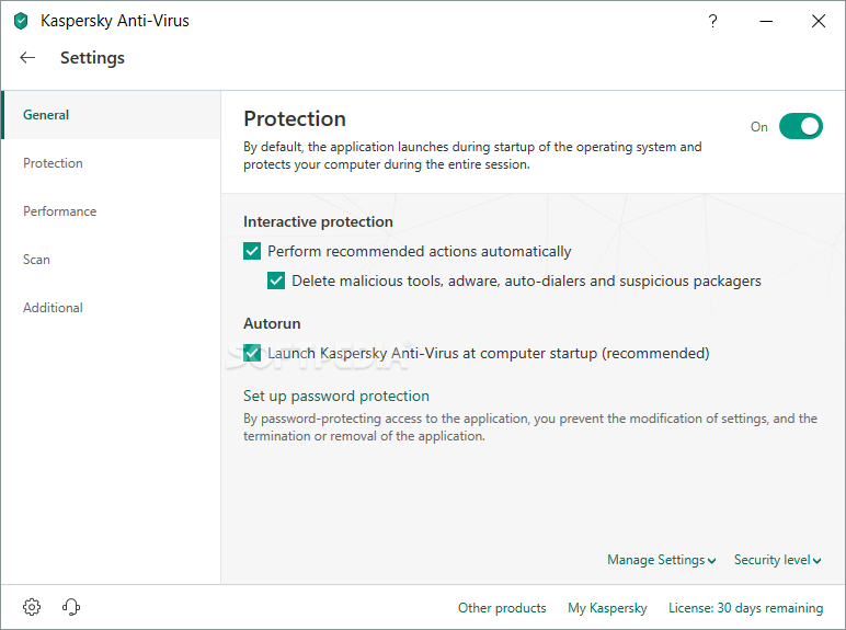 Kaspersky Anti-Virus screenshot 21