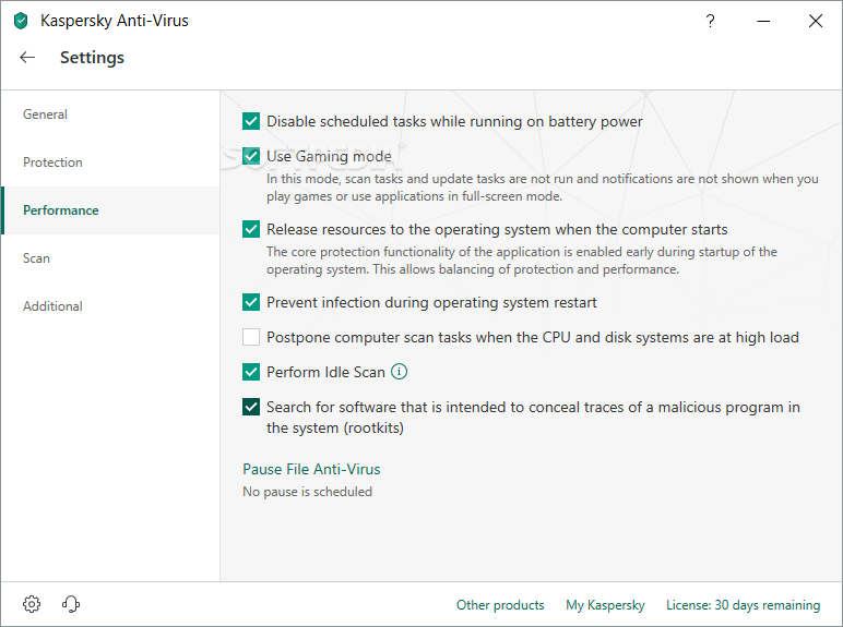 Kaspersky Anti-Virus screenshot 23