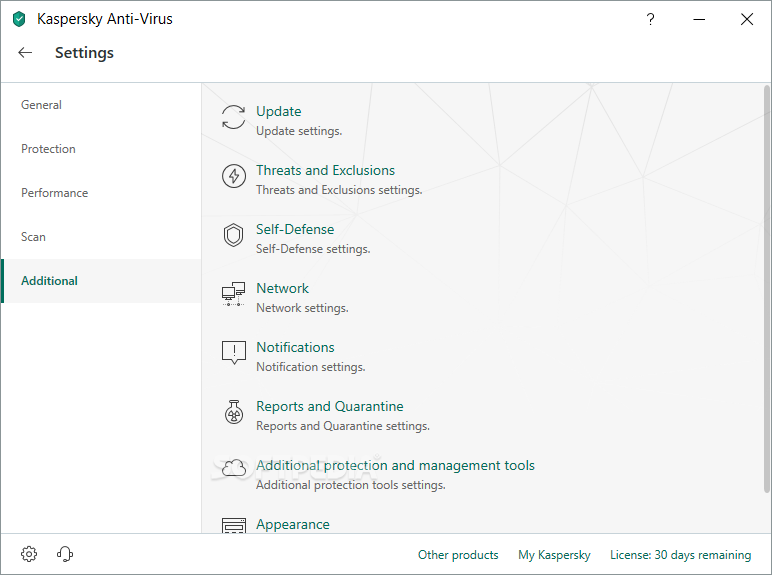 Kaspersky Anti-Virus screenshot 25