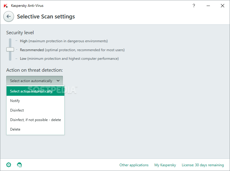 Kaspersky Anti-Virus screenshot 30