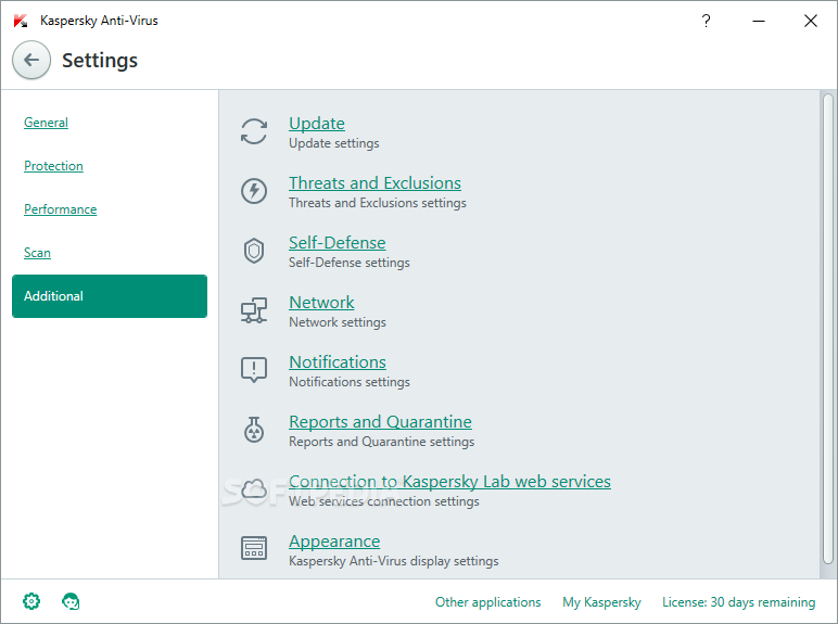 Kaspersky Anti-Virus screenshot 32