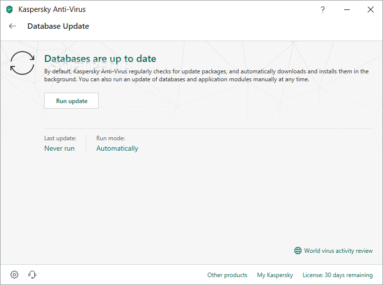 Kaspersky Anti-Virus screenshot 12