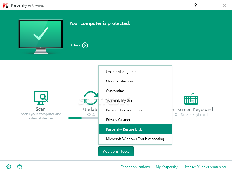 Kaspersky Anti-Virus screenshot 6