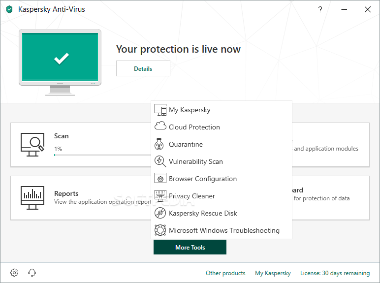 Kaspersky Anti-Virus screenshot 14