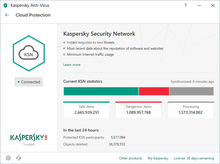 Kaspersky Anti-Virus screenshot 15