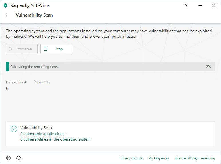 Kaspersky Anti-Virus screenshot 16