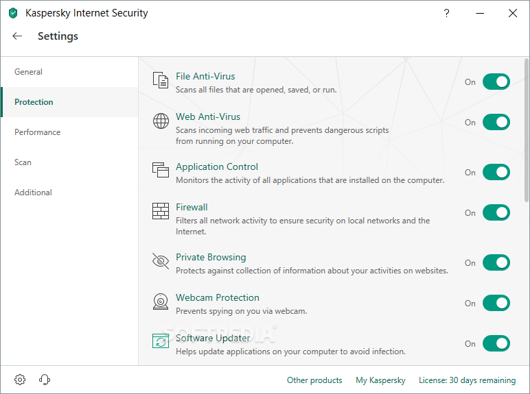 Download Kaspersky Internet Security 20 0 14 1085 / 21 0 13 418 Beta