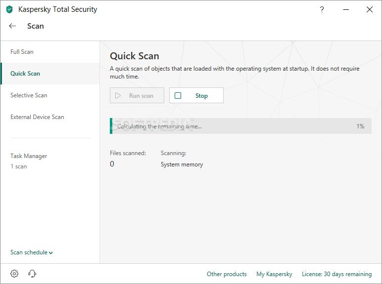 kaspersky total security download trial