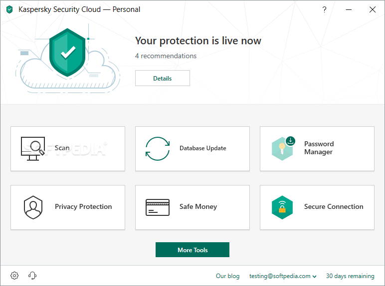 activate kaspersky secure connection