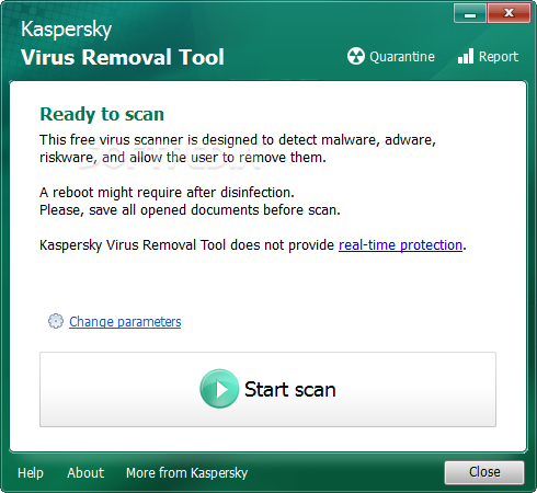 Free Kaspersky Virus Removal Software