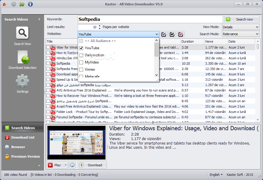 Download Kastor - All Video Downloader 6 0 0
