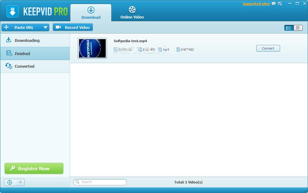 keepvid gratuit pour windows 7