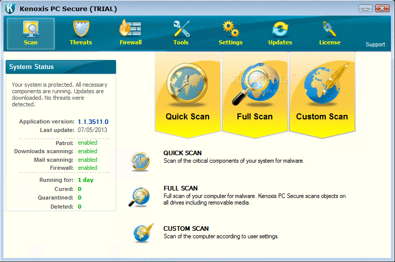Download Kenoxis PC Secure 1.1.3511.0