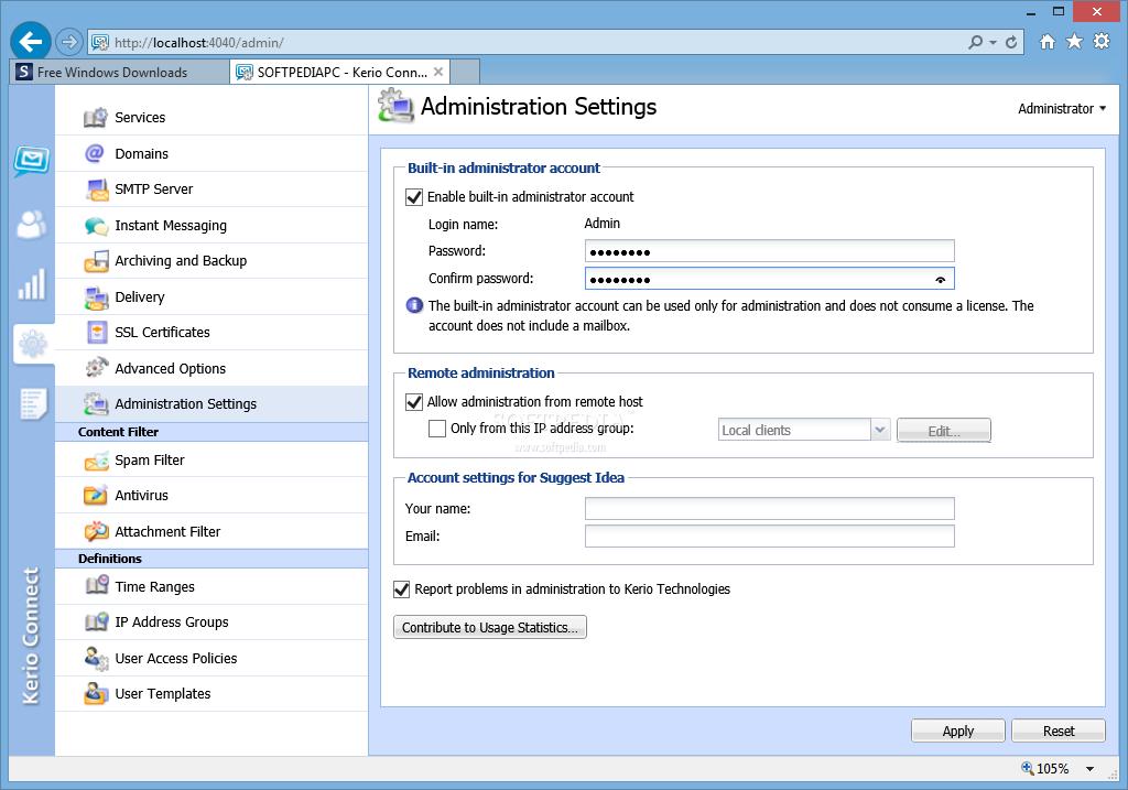 Download Kerio Connect 9 2 9 Build 4497 / 9 2 9 Patch 1