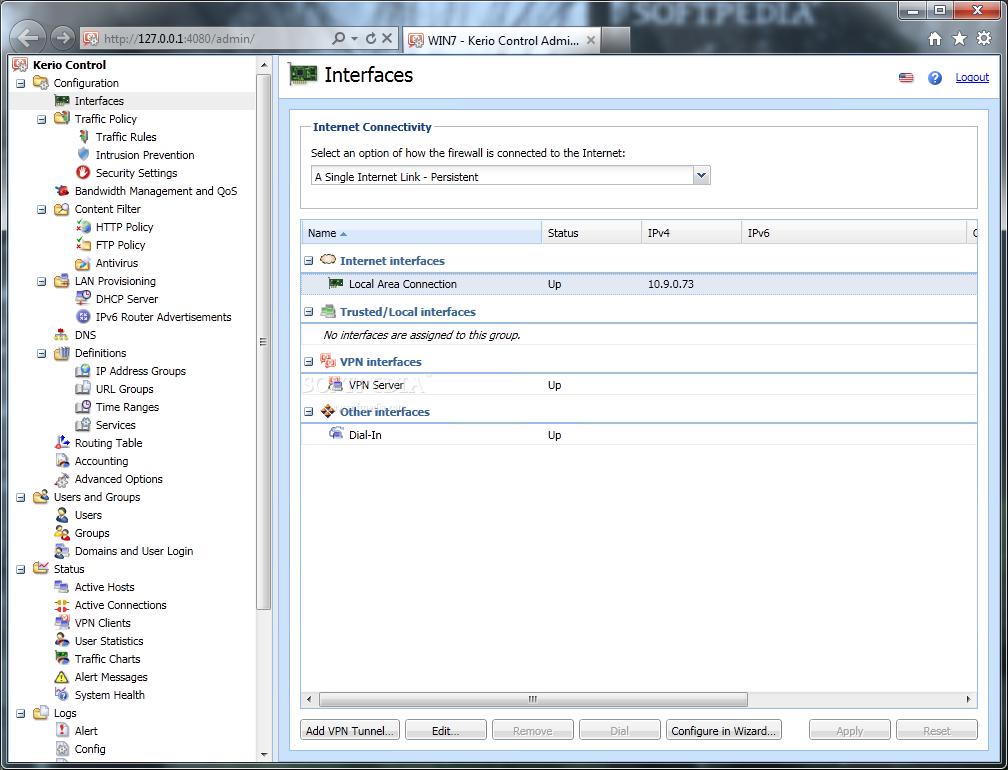 Kerio WinRoute Firewall 1 - Kerio Vpn Client Download 64 Bit