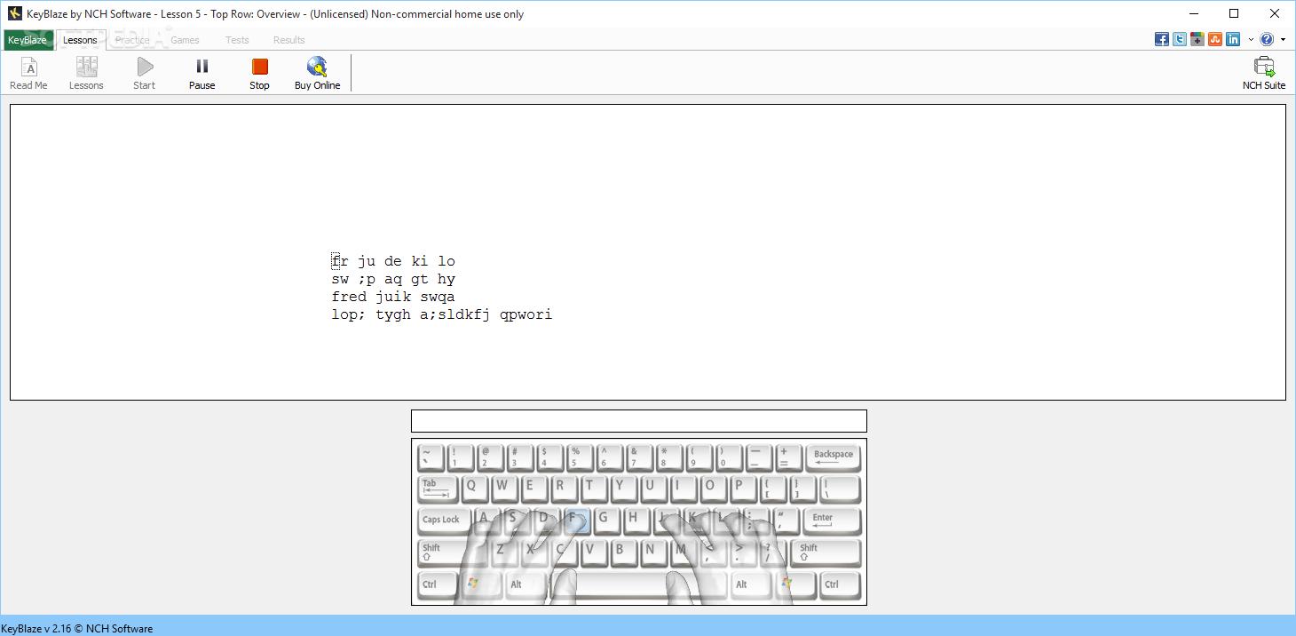 keyblaze typing tutor serial key