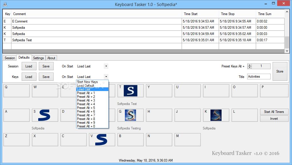 Download Keyboard Tasker 1 0 0 3