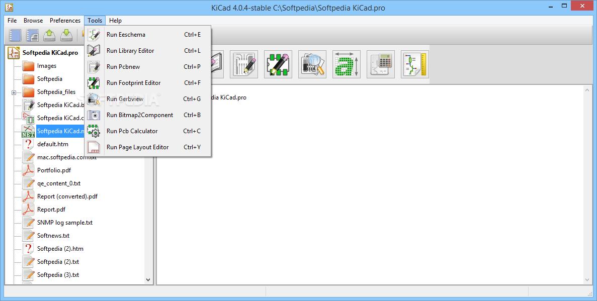 Download KiCad Portable 4 07 / 5 1 2 Dev Test 1