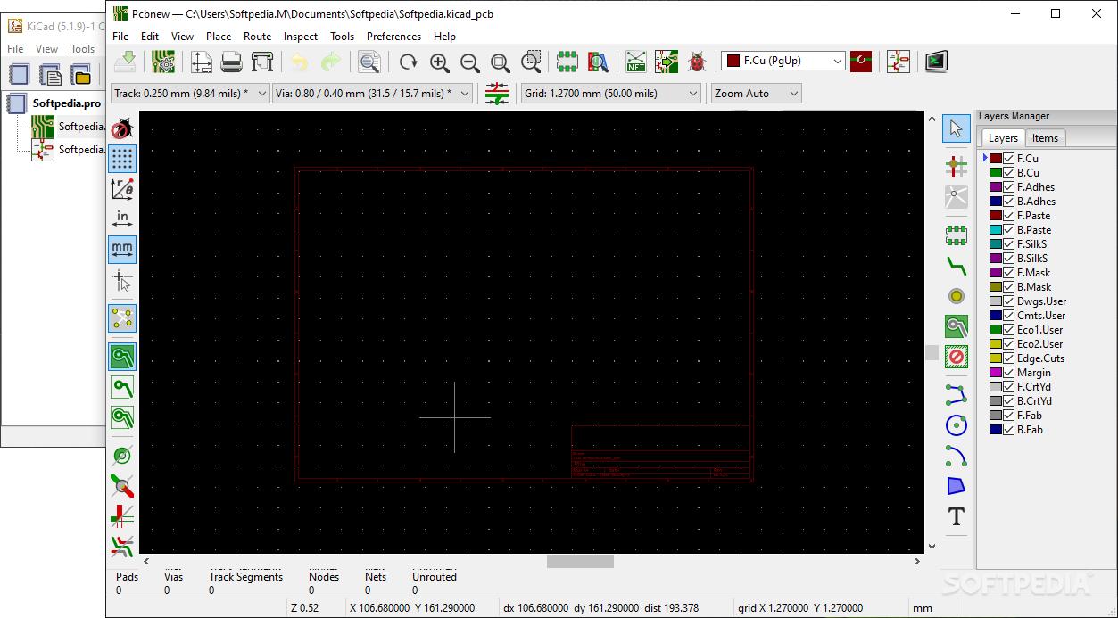Download KiCad 5 1 2 / Release r13980 Nightly
