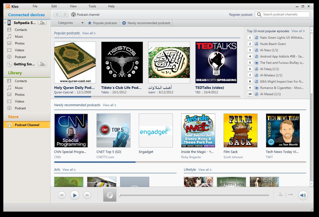 samsung kies download old version