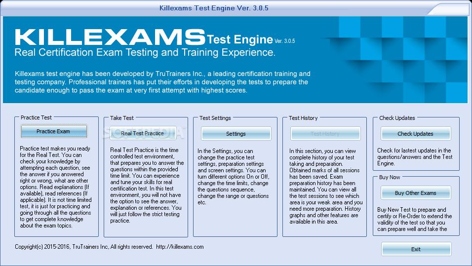 Download Killexams Test Engine 3 0 9